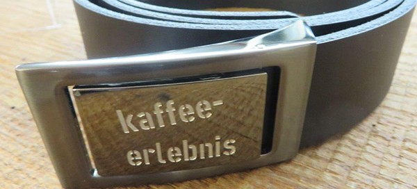 Frei Gürtel - Gurt Kaffeeerlebnis